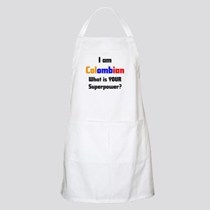 i am colombian Apron