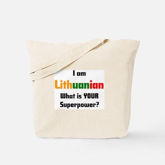 i am lithuanian Tote Bag
