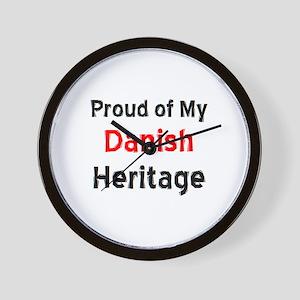 danish heritage Wall Clock