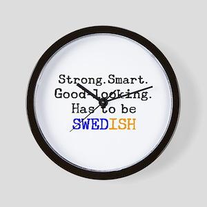 be swedish Wall Clock
