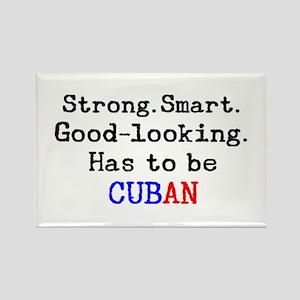 be cuban Rectangle Magnet
