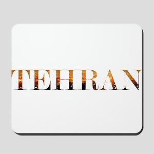 Tehran City Lights Mousepad