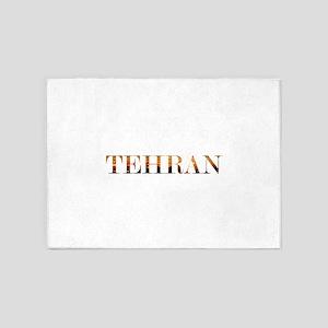 Tehran City Lights 5'x7'Area Rug