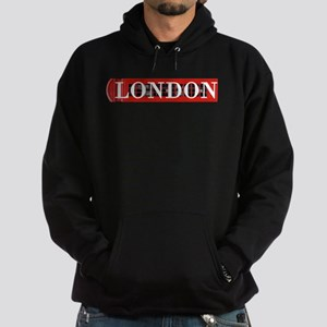 London Red Telephone Box Hoodie (dark)