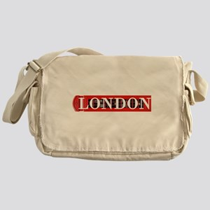 London Red Telephone Box Messenger Bag