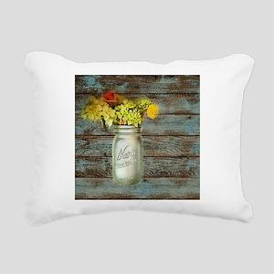 western country mason ja Rectangular Canvas Pillow