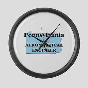 Pennsylvania Aeronautical Enginee Large Wall Clock