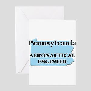 Pennsylvania Aeronautical Engineer Greeting Cards
