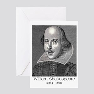 William Shakespeare Greeting Cards
