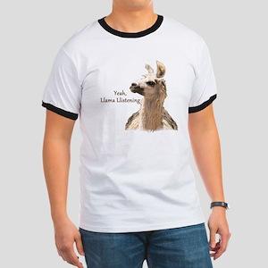 Llama Llistening T-Shirt