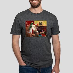 Santa's Std Poodle(c) T-Shirt