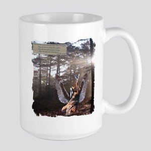On Wings of Eagles Large Mug