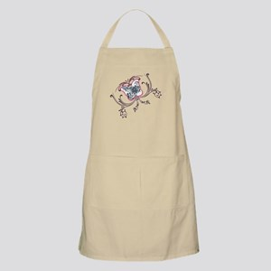 RK Sweet Pink Butterfly BBQ Apron