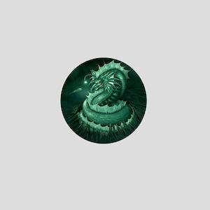 Sea Serpent Mini Button