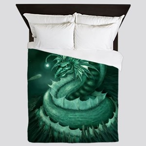 Sea Serpent Queen Duvet