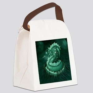 Sea Serpent Canvas Lunch Bag