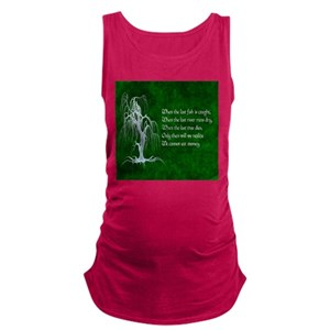 29c86834b0e6a Ecology Maternity Tank Tops - CafePress
