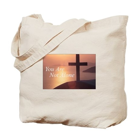 You Are Not Alone - Cross Tote Bag