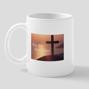 You Are Not Alone - Cross Mug