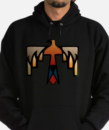 Thunderbird - Native American Indian Hoodie (dark)