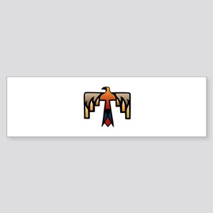 Thunderbird - Native American India Bumper Sticker