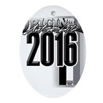 New 2016 Oval Ornament