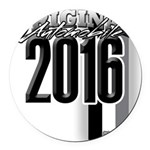 New 2016 Round Car Magnet