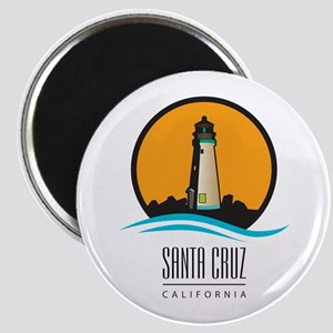 Santa Cruz California CA Light House Magnet