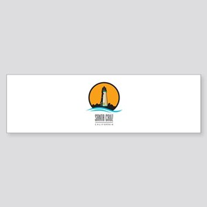 Santa Cruz California CA Light Ho Sticker (Bumper)