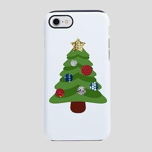 emoji christmas tree iphone 87 tough case
