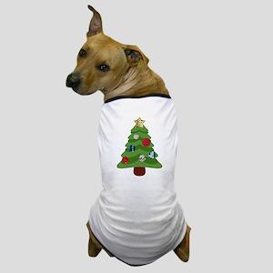 emoji christmas tree Dog T-Shirt