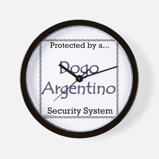 Dogo Security Wall Clock