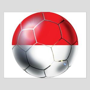 Monaco Soccer Ball Posters