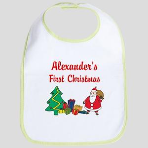 First Christmas Bib