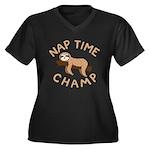 Nap Time Champ Plus Size T-Shirt