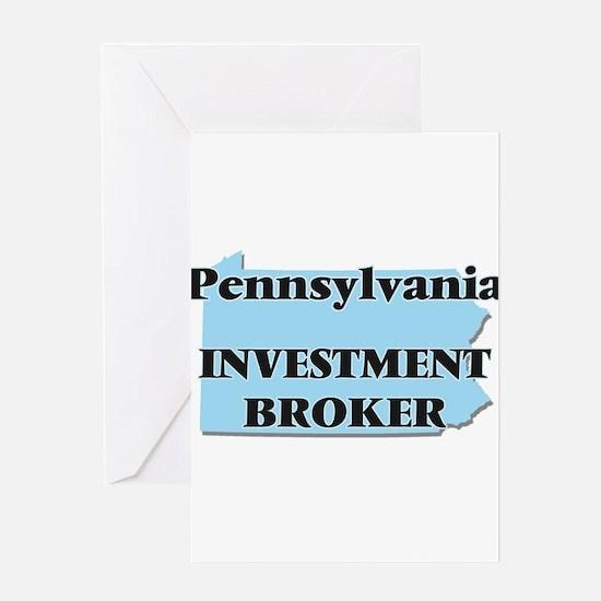 Pennsylvania Investment Broker Greeting Cards