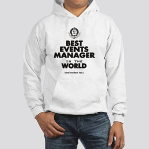 Events Manager Hooded Sweatshirt