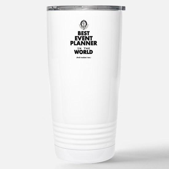Event Planner Stainless Steel Travel Mug