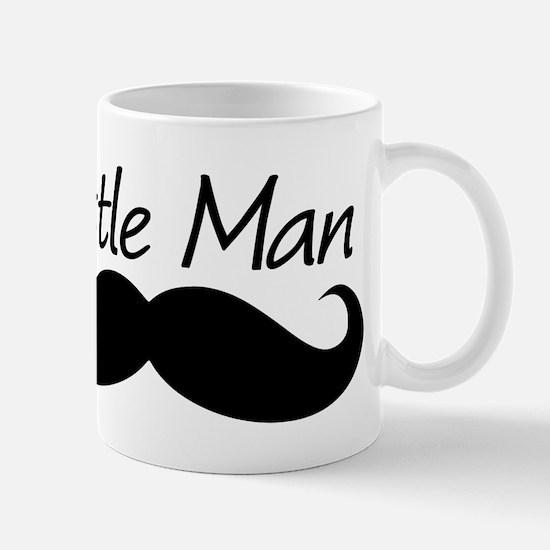 Little Man Mustache baby Boy Mugs