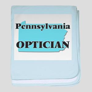 Pennsylvania Optician baby blanket