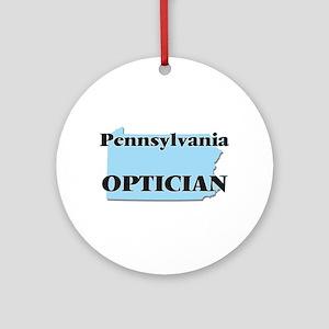 Pennsylvania Optician Round Ornament