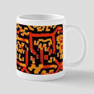 Confused Maze Mugs