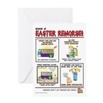 Easterremorse Greeting Cards