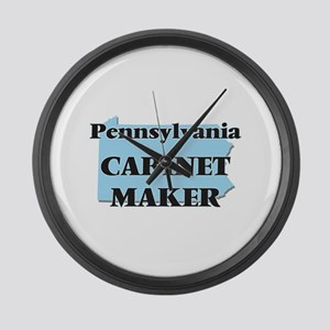Pennsylvania Cabinet Maker Large Wall Clock