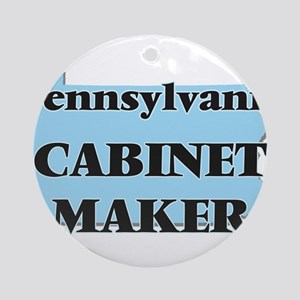 Pennsylvania Cabinet Maker Round Ornament