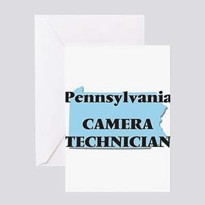 Pennsylvania Camera Technician Greeting Cards