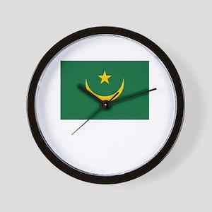 Flag And Name Wall Clock