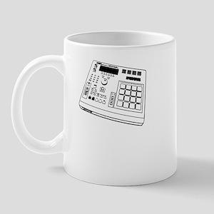 Angle MPC Black/White Mug