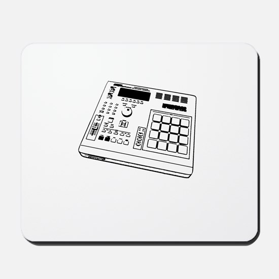 Angle MPC Black/White Mousepad