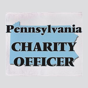 Pennsylvania Charity Officer Throw Blanket